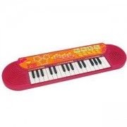 Детски синтезатор с 32 клавиша за момиче, Bontempi, 191247