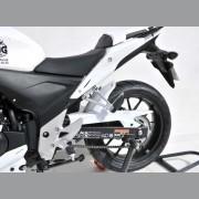 Honda CB500F / CB500X (2013) Rear Hugger: Silver E730182135