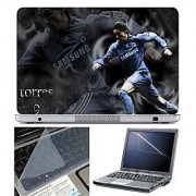 FineArts Laptop Skin 15.6 Inch With Key Guard & Screen Protector - Torres Samsung
