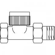 Oventrop Thermostatische radiatorafsluiter AZ 1 recht Kvs 0,65 m3 h 1187108