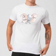 Disney Dombo Happy Day T-shirt - Wit - XXL - Wit