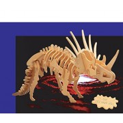Puzzled Big Styracosaurus Wooden 3 D Puzzle Construction Kit
