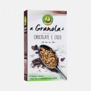 CEM POR CENTO A GRANOLA+ CHOCOLATE E COCO CEM POR CENTO 350g
