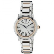 Seiko Analog White Round Women's Watch-SRZ448P1