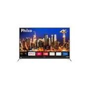 Smart TV LED 55 Philco PTV55G50SN Ultra HD 4k com Conversor Digital 3 HDMI 2 USB Wi-Fi Soundbar Embutido 60Hz Preta