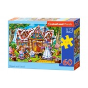 Puzzle Hansel and Gretel, 60 piese