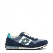 Lotto Sneakers da uomo Tokyo Targa blu avio