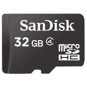 Cartão de Memória SanDisk MicroSD / MicroSDHC SDSDQM-032G-B35A - 32GB