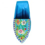 Kuhu Creations Supreme Practical Science Learning Tin Boat Water Toys. (1 Units Turquoise Blue (Flower Pattern) Boat)