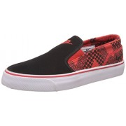 Nike Men's Toki Slip Txt Print Black and Red Sneakers - 5.5 UK/India (38.5 EU)(6 US)
