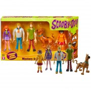 Scooby Doo Set Con 5 Personajes Shaggy Fred Daphne - 05566