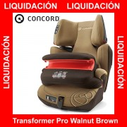 Concord Transformer Pro Walnut Brown Isofix silla auto G1 2 3