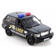 RMZ City Land Rover Range Sport Police, Black - 555007P Diecast Model Toy Car