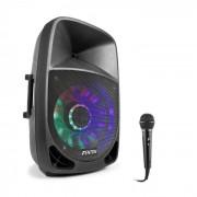 Fenton FT1500A Set de altavoz activo 350 W Bluetooth con micrófono Negro (PL_31782-Mic)