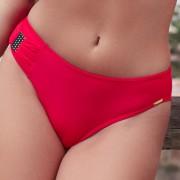 Slip costum de baie Alex Red rosu 36