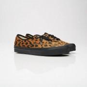 Vans Ua Og Authentic Lx (Canvas/Suede) Leopard/Black
