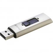 SSD flash stik 256 GB 47691 Verbatim Store âEURnâEUR™ Go Vx400 srebrna USB 3.0