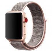 Apple Watch Series 5/4/3/2/1 Nylon Strap - 44mm, 42mm - Rose Gold