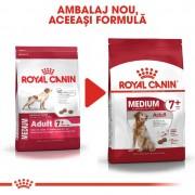 Royal Canin Medium Adult 7+, 15 kg