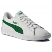 Сникърси PUMA - Smash Vl L 365215 03 Puma White/Amazon Green