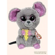 New Ty Plush Animals Beanie Boos Squeaker Mouse 15cm/6 Cute Ty Big Eyed Stuffed Animal Kids Toys For Children