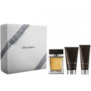 Dolce & Gabbana The One 100ml Apă De Toaletă + 50ml Gel de duș + 75ml After Shave Balsam Set