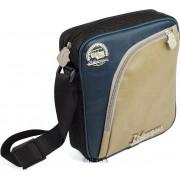 VW T1 Bus Tablet-PC Tas met Bandenprofiel - Vintage Logo/beige&blauw