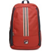 Fila Premium 2.2 L Backpack(Red, Black)