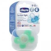 Бебешка силиконова залъгалка Chicco Nurs Comfort, светеща 6-12м., 2522053