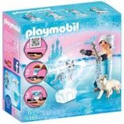 Комплект Плеймобил 9353 - Playmobil - Принцеса, зимен цвят, 2900422