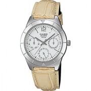 Casio Enticer White Dial Womens Watch - Ltp-2069L-7A1Vdf (Sh61)