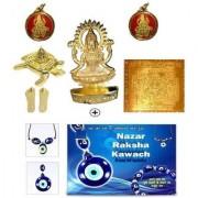 Astrology Goods Sobhagya Dhan Laxmi Kripa Yantra With Nazar Raksha Kavach 25158