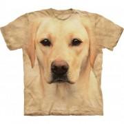 Hi-tech zvieracie tričká - Labrador zlatý