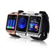 DZ09 Gold Bluetooth Sim Memory Card Slot Camera Smartwatch