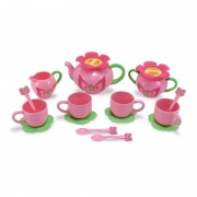 Set ceai de jucarie Bella Butterfly, Melissa and Doug, 17 piese