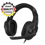 HEADPHONES, Speedlink VERSICO, Gaming, Headset, Black-grey (SL-870001-BKGY-01)