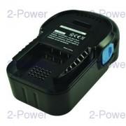 2-Power Verktygsbatteri AEG 18v 2000mAh (L1815R)