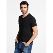 Guess T-Shirt Ronde Hals - Zwart - Size: Medium