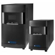 SAI Lapara 1000VA/900W v09, on-line, doble conversión, 4x IEC, USB/RS232, RJ45, LCD