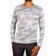 Nike Printed Men's Full Sleeve Round Neck Nylon Tshirt
