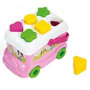 Jucarie de sortat forme Clementoni, autobuzul lui Minnie
