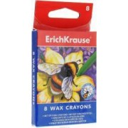 Set creioane colorate cerate ErichKrause 8 culori