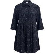Vila Rochie de damă VIGIULIA 3/4 SHORT DRESS/1 Total Eclipse 42