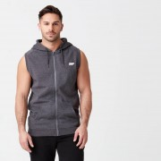 Myprotein Tru-Fit Sleeveless Hoodie - M - Charcoal