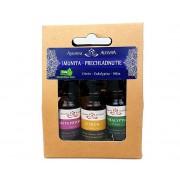 Altevita Set olejov Imunita a Prechladnutie 3 x 10 ml