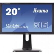 Iiyama LED monitor Iiyama B2083HSD, 49.5 cm (19.5 palec),1600 x 900 px 5 ms, TN LED VGA, DVI, na sluchátka (jack 3,5 mm)