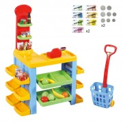 Playgo 50 Piece My Supermarket & Trolley Set 3246