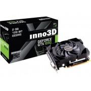 Inno3D Grafikkort Inno 3D Nvidia GeForce GTX1050 Compact X1 2 GB GDDR5 PCIe x16 HDMI, DVI, DisplayPort