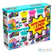 Canal Toys: 3 Darabos Slime Shaker Csomag Bónusszal (Kensho, SSC019)