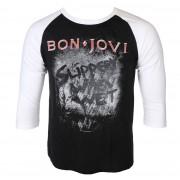 tričko pánské s dlouhým rukávem BON JOVI - SLIPPERY WHEN WET - PLASTIC HEAD - PH10332LSB